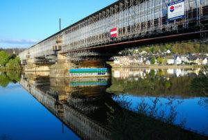 Korrosionsschutz Bahnbrücke