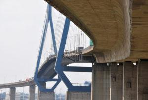 Korrosionsschutz Köhlbrandbrücke Hamburg